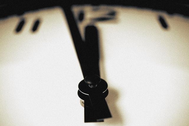 時計のアップ