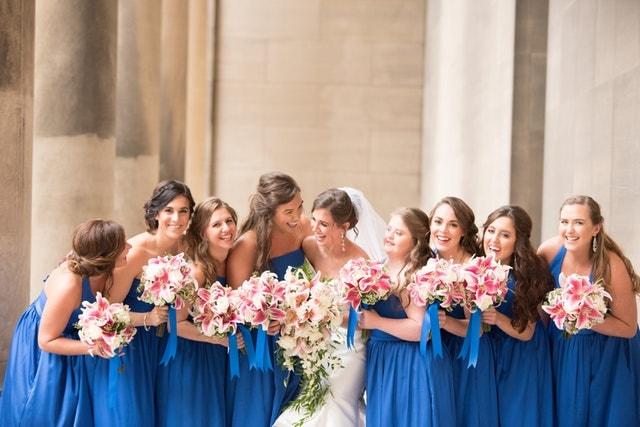 花嫁とブライズメイド